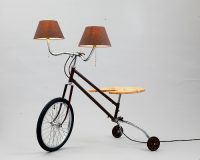 Upcycling Stehlampen